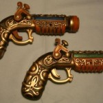 guns steampunk raygun