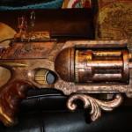 laser steampunk pistol