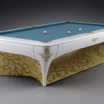 out of the world luxurious pool table