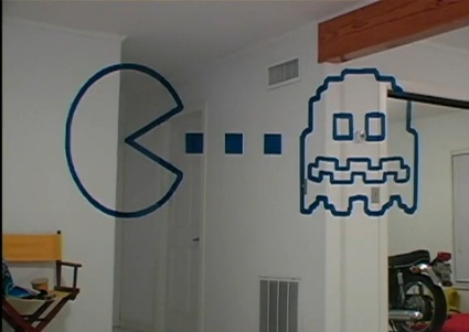 pacman illusion video