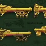 rifles steampunk