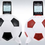 soccer ball ipod dock