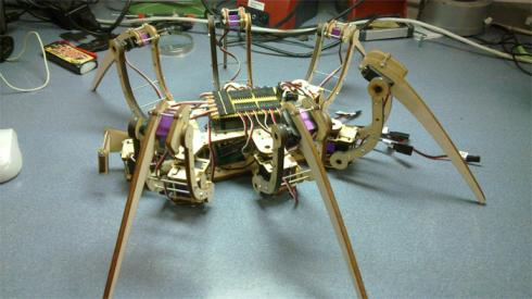 spider bot robot diy