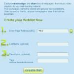 weblist registration