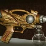 weird steampunk gun