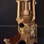 weird steampunk gun n holster