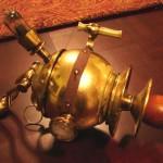 weird steampunk science gun