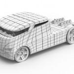 3D Volkswagen