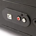 Briefcase USB Turntable USB Port