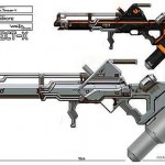 District 9 Gas Projector Rifle