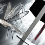 Metal Card Folded Insects