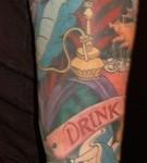 alice in wonderland tattoo 2