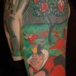 alice in wonderland tattoo 3