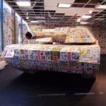 arty paper tank
