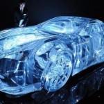 avant garde lexus transperant car