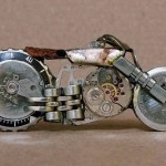 brazilian motorcycle horology watch art bike