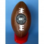 clock throw football