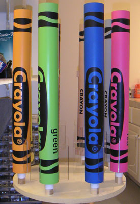 crayola crayon rocket project