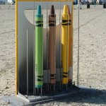 crayola crayon rocket project image