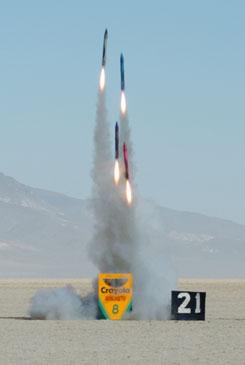 crayola crayon rocket project