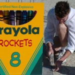crayola crayons rockets project