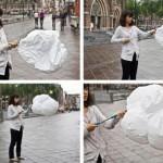 crazy cloud umbrella