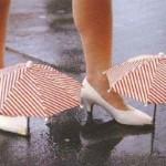 crazy umbrella shoes