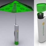 eco solar umbrella
