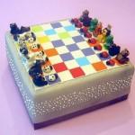 edible animal chess board