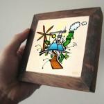 environment wooden frame