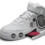 gangsta boombox sneakers