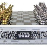 geeky star wars chess set
