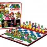 geeky super mario chess set