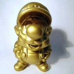 gold super mario brothers