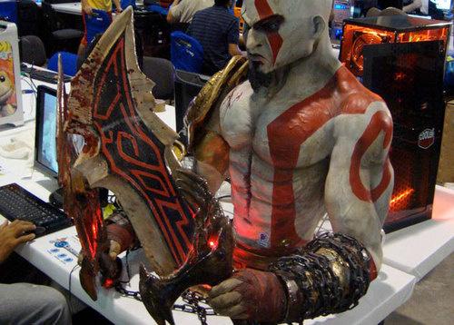 kratos god of war computer pc mod