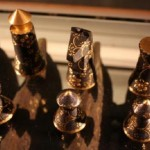 limited edition japanese lacquered chess set