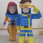 marvel papaercraft cyclops