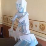 marvel papaercraft ice man