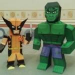 marvel papaercraft incredible hulk