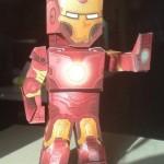marvel papaercraft iron man