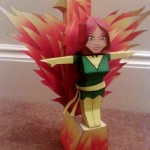marvel papaercraft phoenix