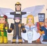 marvel papercraft characters