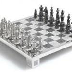 opulent royal diamond chess set