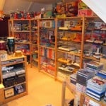retro gameroom for men