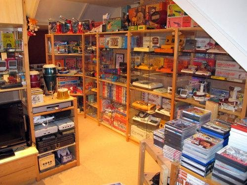 awesome gameroom for geeks