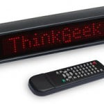 scrolling led message sign