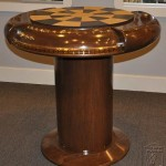 steampunk chess table