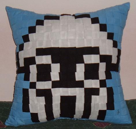 super mario brother quilt art