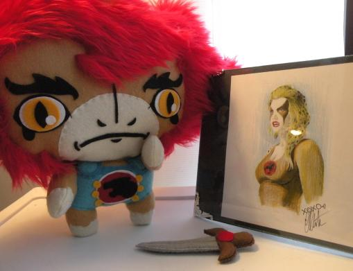 thundercats liono plush dolls