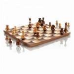 wooden chess set luxury